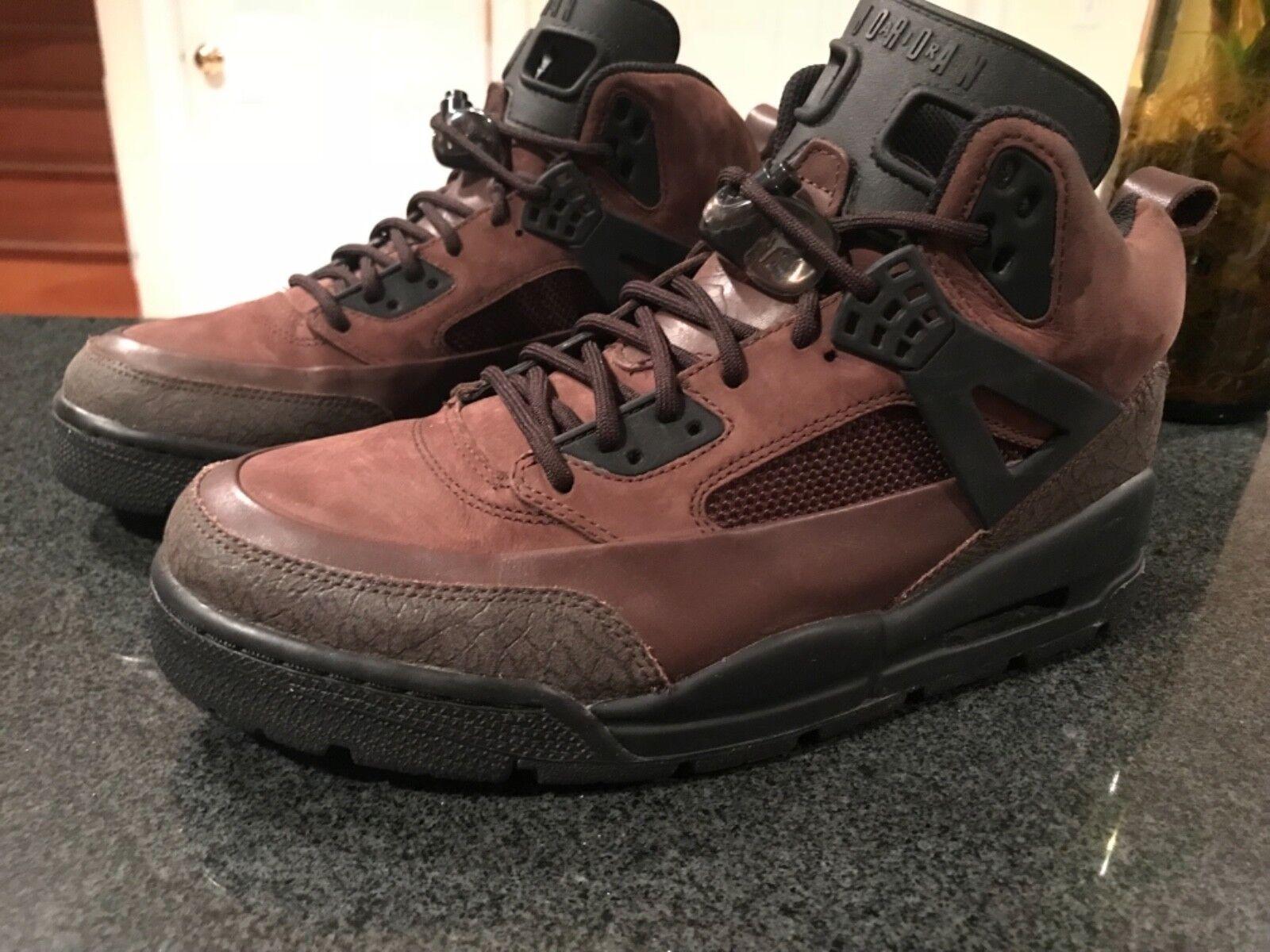 Rare Retro Jordan Winterized Spizike Size 9.5 Brown Black 2018 release boot