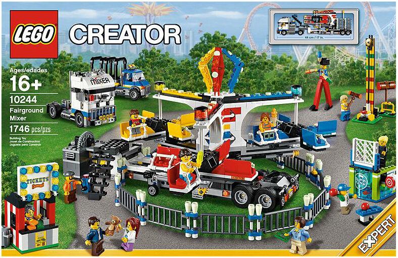 LEGO ® 10244 CREATOR EXPERT Jahrmarkt-Fahrgeschäft Neu OVP
