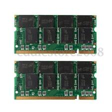 2GB 2x1G PC2700 DDR 333Mhz Non-ECC 200 Pin DIMM Laptop Desktop PC Memory RAM