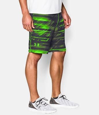 Under Armour Men's UA HeatGear Raid Printed Loose Fit Shorts - NWT $35