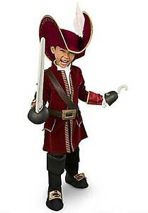 Disney-Store-Jake-and-the-Neverland-Pirates-Captain-Hook-Costume-Boys-Size-2-3