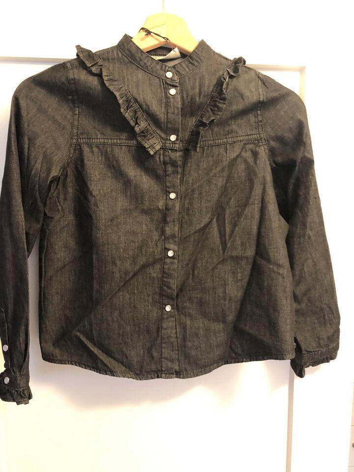 Skjorte, Denim skjorte, Milk Copenhagen