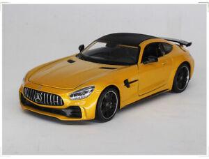 WELLY-1-24-Mercedes-Benz-AMG-GTR-Alloy-Car-Model-Boys-Toys-Static-Display