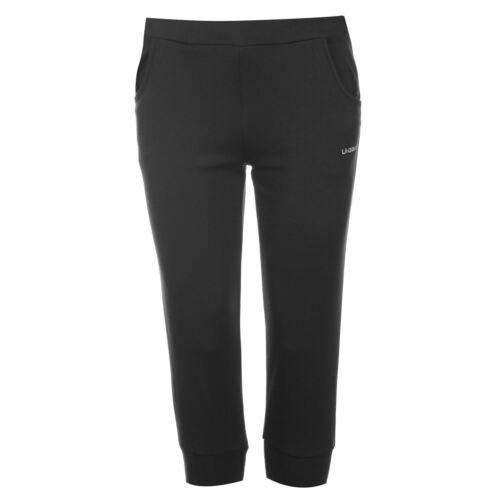 LA Gear Damen Ladies 3//4 Länge Caprihose Interlock Hose Sporthose Hosen Kleidung