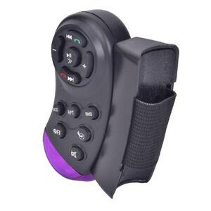 Universal-Steering-Wheel-IR-Remote-Control-Fr-GPS-Car-CD-DVD-TV-MP3-Player-Cb