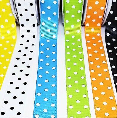 9mm wide Halloween Ribbons,Happy Halloween GrosgrainSatin Mix Ribbons,Cheer Ribbons,Holiday Ribbons