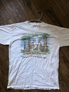 Vintage-The-Far-Side-Tshirt-Deers-Single-Stitch
