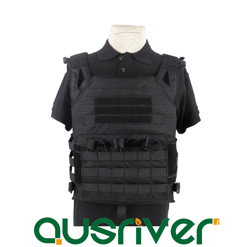 1000D Nylon Adjustable Military  Tactical Vest Plate Carrier Molle Wargame Combat  save on clearance