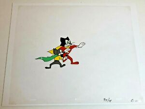 Courageous Cat and Minute Mouse (1960) Original Production Cel Matching drawing