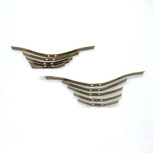 For WPL B16 B36 B24 GAZ Ural Truck Car Metal Steel Leaf Spring Sheets Holder Kit