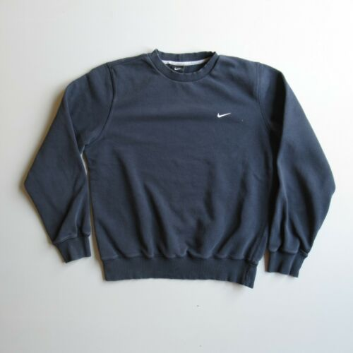NIKE Distressed Faded Blue Sweatshirt Shirt