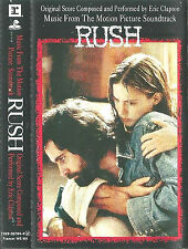 Eric Clapton ‎Motion Picture Soundtrack Rush CASSETTE ALBUM Jazz Rock Blues