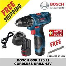 Bosch GSR 1080    GSR 120 (NEW) Cordless Drill 10.8V (FREE 65MM BIT)