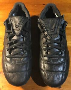 Nike-Premier-LL-SG-PRO-anti-intasamento-in-pelle-nera-Taglia-6-5-UK-40-5-UE-921392003