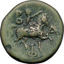 PHILIP V King of Macedonia 212BC Zeus Horseman Genuine Ancient Greek Coin i49231