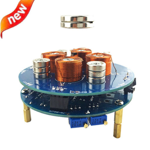 DIY Magnetic Levitation Kit Push Type Magnetic Suspension Simulation System Y