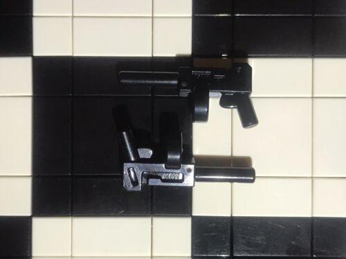 Lego Minifigura Tommy Gun X2//GÁNSTER//arma//Ciudad//Minifigura no incluido