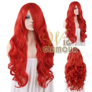 Long-80cm-Curly-Red-Fashion-Hair-Wig-Heat-Resistant