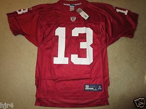 f0ce1fddd229 Kurt Warner  13 Arizona Cardinals Reebok NFL Super Bowl Jersey SM ...