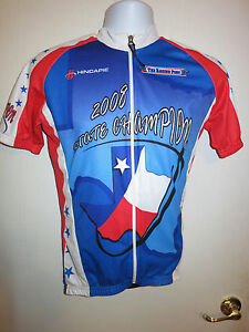 734ea64c2 Image is loading NEW-HINCAPIE-Custom-Texas-State-Champion-Cycling-Jersey-