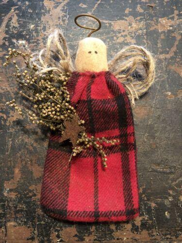 Jute Primitive Ornament// Bowl Filler Angel