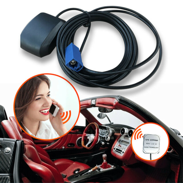 GPS Antenna FAKRA RNS-E For BMW Audi VW Mercedes NTG Comand APS Vauxhall Opel