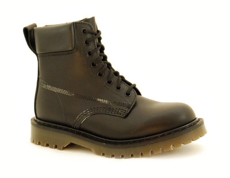 ci sono più marche di prodotti di alta qualità Solovair NPS scarpe made in England 7 Eye Eye Eye nero Padded Collar ben s066-SC 7700 bgbk  acquista online