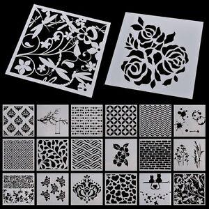 17-Patterns-Cutting-Dies-DIY-Scrapbooking-Rose-Decor-Embossing-Stencil