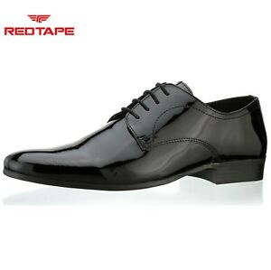 c93fb171fd Image is loading Mens-Red-Tape-Southill-Black-Patent-Leather-Smart-