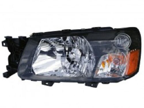 New Left driver headlight head light fit for 2005 Subaru Forester