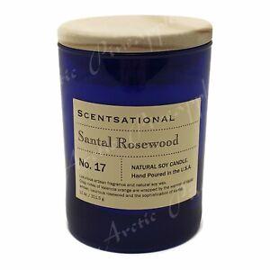 Scentsational-Natural-Soy-Medium-11oz-Candle-Wooden-Lid-No-17-Santal-Rosewood