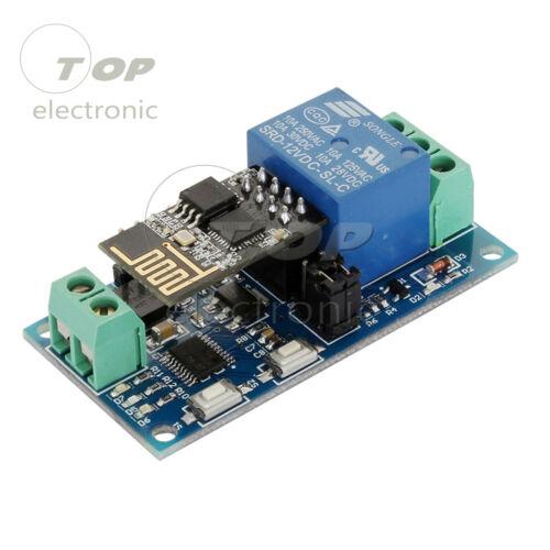 ESP8266 ESP-01 12V 4 Channel WiFi Relay Module For IOT Phone APP Controller L2KE
