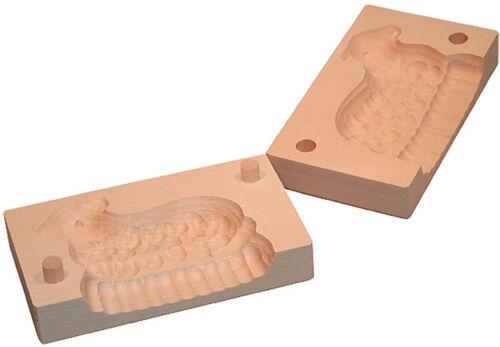 Butterform 2 pièces beurre Model de érable pour 100 g BEURRE motif Agneau