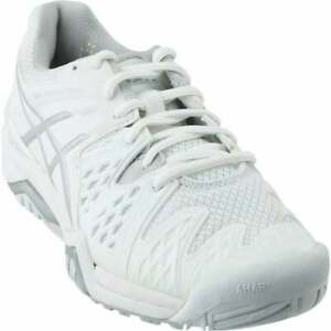 ASICS-GEL-Resolution-6-Casual-Tennis-Shoes-White-Womens