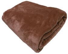 Home Décor Extra Large Fern Green 200cm X 240cm Faux Fur Mink Fleece Blanket Bedpread Throw Afghans & Throw Blankets