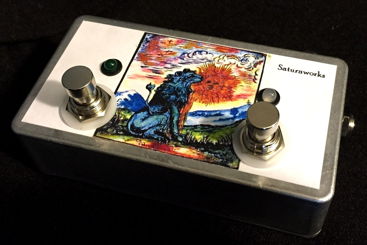 Saturnworks Passive A B Y ABY AB A B Guitar Switch Pedal, Handcrafted in the USA