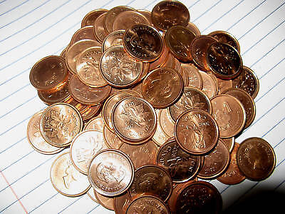 2006 No Mint Mark No P Non Magnetic Canada BU Penny One Coin From The Lot.
