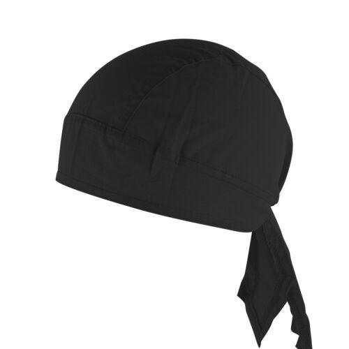 2019 Stylish Fitted Solid Tied Back Bandana Doo Rag  Do Du Motorbake Skull Cap