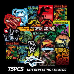 75-Dinosaur-Stickers-Decoration-Jurassic-Park-to-Laptop-Skateboard-Luggage-Decal