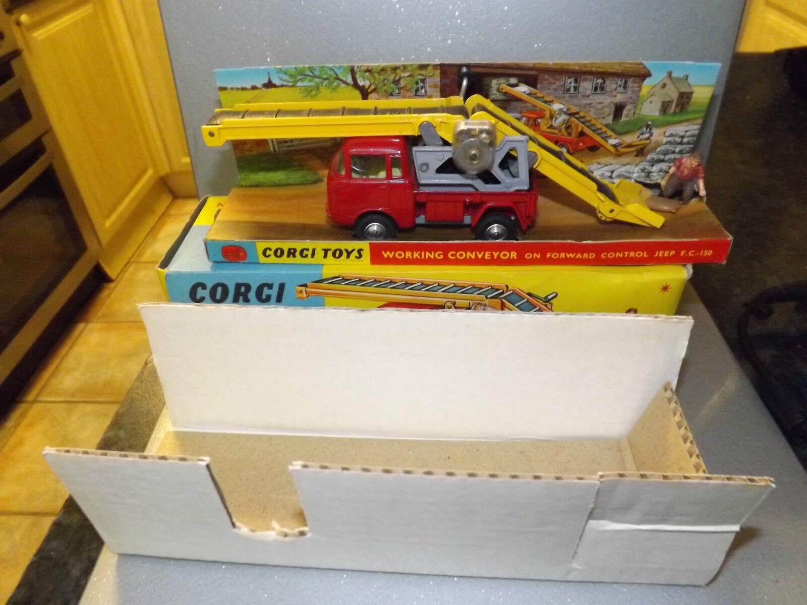 Corgi Corgi Corgi nº 64 working conveyor forward control jeep f.c.150 Comme neuf EN Vn/Comme neuf BOX   La Conception Professionnelle  863110