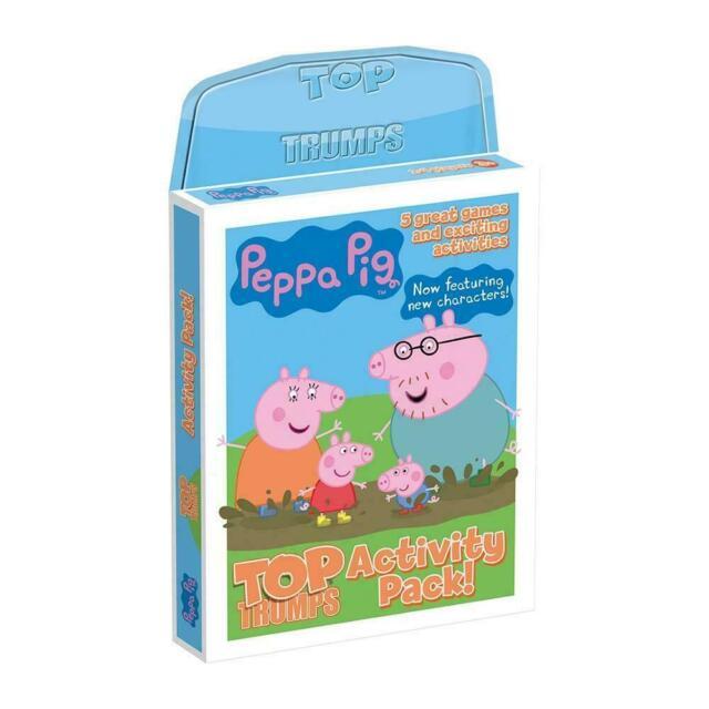 Top Trumps Peppa Pig Junior Activity Pack Card Game