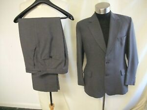 Mens Suit Austin Reed Grey Jacket 40 S Waist 31 Leg 29 Custom Made 7731 Ebay