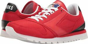 Brooks-Chariot-Heritage-Men-039-s-High-Risk-Red-Black-White-7M-US