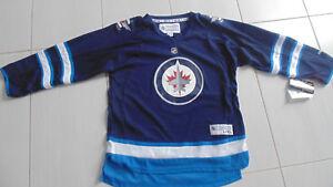 meet c21e0 af2ff Winnipeg Jets Reebok Youth Jersey Size L/XL NEW with tags   eBay