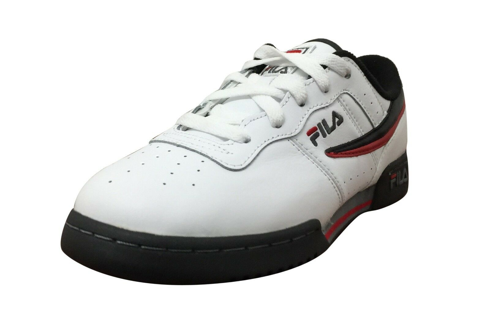 Fila Original Fitness White/Black/Fire Red Price reduction Price reduction New shoes for men and women, limited time discount