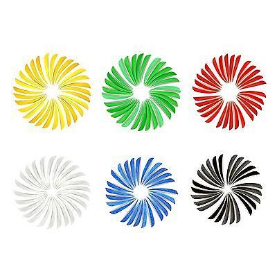 "New 4"" or 5"" Archery Turkey Feathers Flu Flu Left Wing Archery Fletching 6 Color"