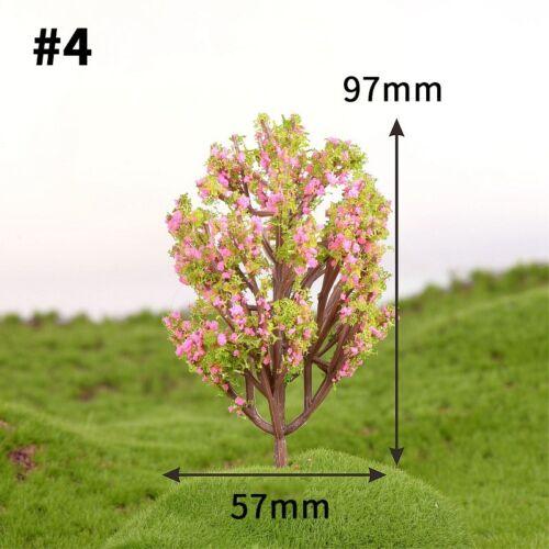 1pc Micro Landscape PVC Mini Faux Tree Decoration Cute Miniature Garden Ornament