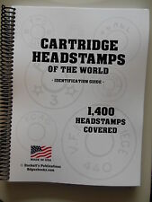 Headstamp Guide 1,400 Head stamps Gun book reference NEW Cartridge Guides #2