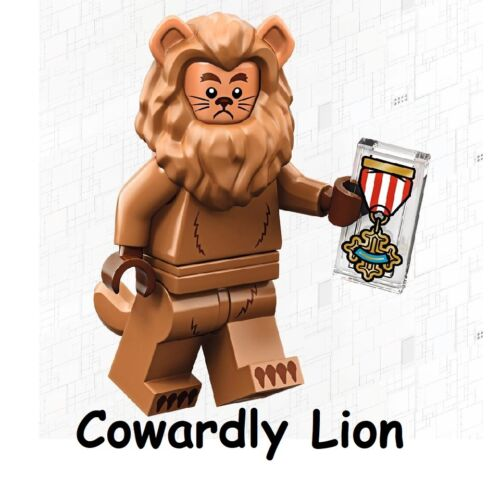 LEGO Movie 2 Minifig Series 71023 Wizard Of Oz # 17 Cowardly Lion SEALED NEW