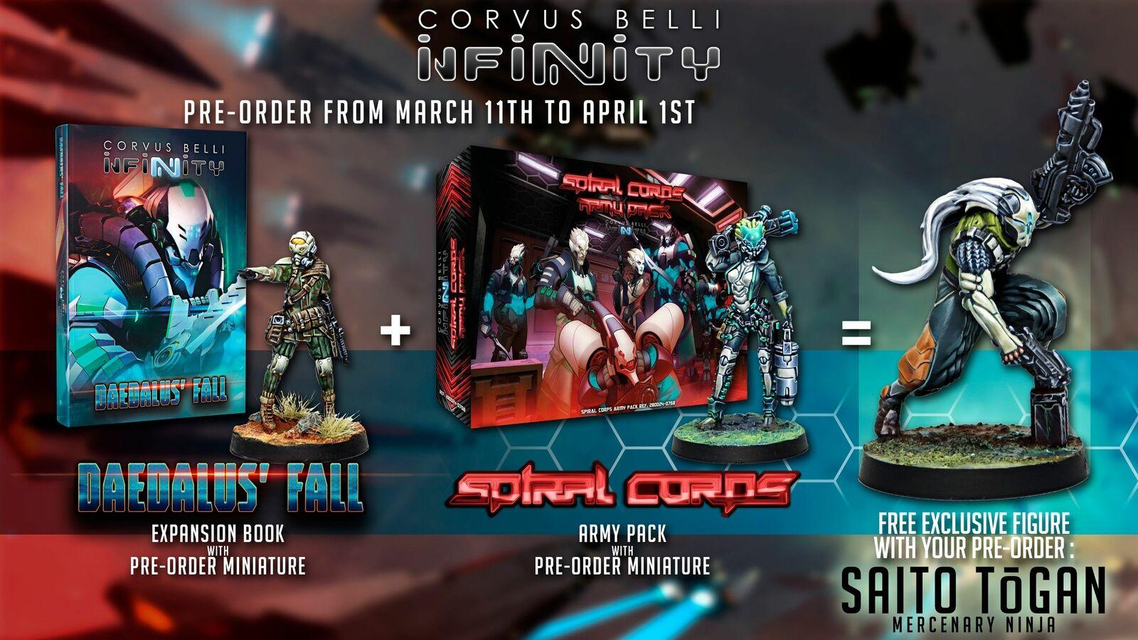 Infinity Adepticon Bundle 2019 Espiral Cuerpo Hatail Daedalus' Descenso Saito